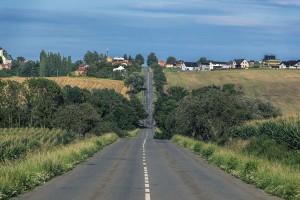Rural Missouri road