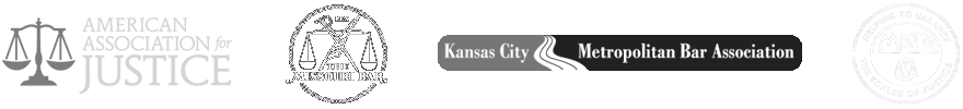 American Association for Justice, Missouri Bar, 40 Under Forty, Kansas City Metropolitan Bar Association, Missouri Association of Trial Attorneys