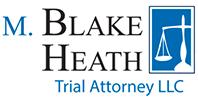 M. Blake Heath, Trial Attorney LLC Logo